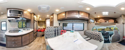 Four Seasons RV Rentals - Class C Medium Motorhome | Panoramic
