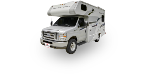 Four Seasons RV Rentals - Class C Small Motorhome | Driver's Side Exterior